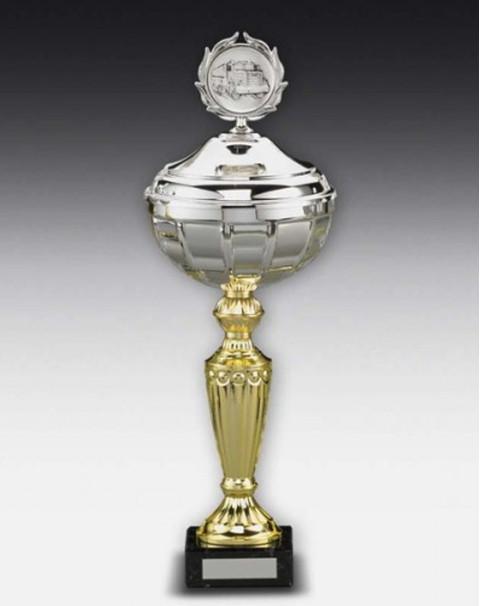Pokale & Preise 100 Bänder breit grün-weiß für Medaillen Pokale Band Sport Medaille Turnier